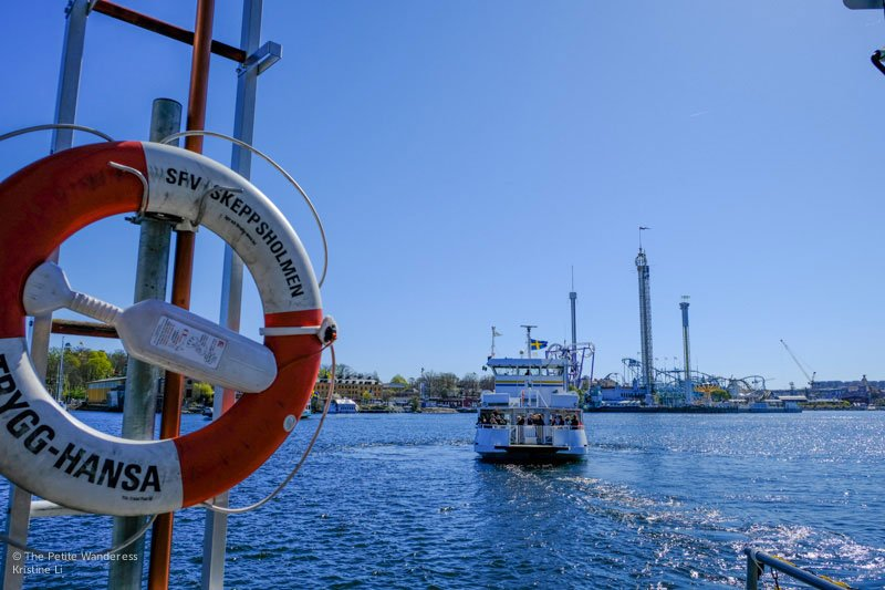 ferry in Stockholm | Travel Tips for Visiting Stockholm • The Petite Wanderess