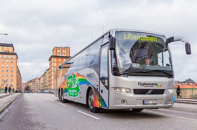 Flygbussarna Airport Bus | Travel Tips for Visiting Stockholm • The Petite Wanderess