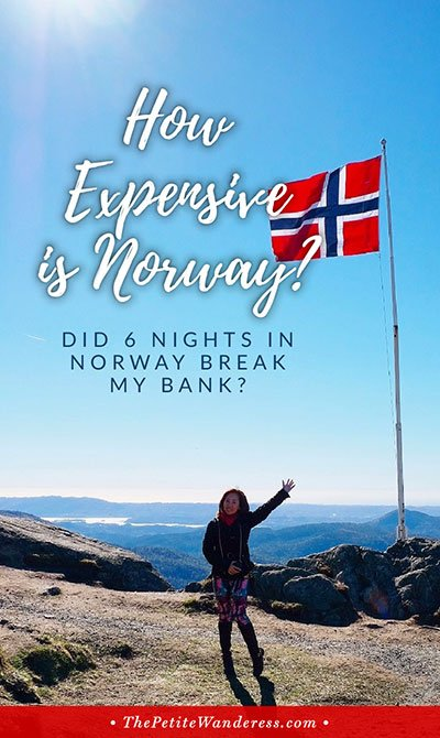 Norway Travel Costs • The Petite Wanderess