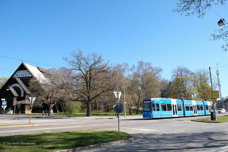 tram in Djurgården   Stockholm in 48 Hours • The Petite Wanderess