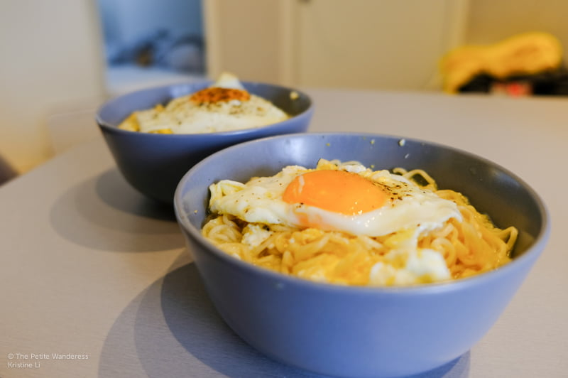 instant noodles   How Much Does A Norway Trip Cost? • The Petite Wanderess