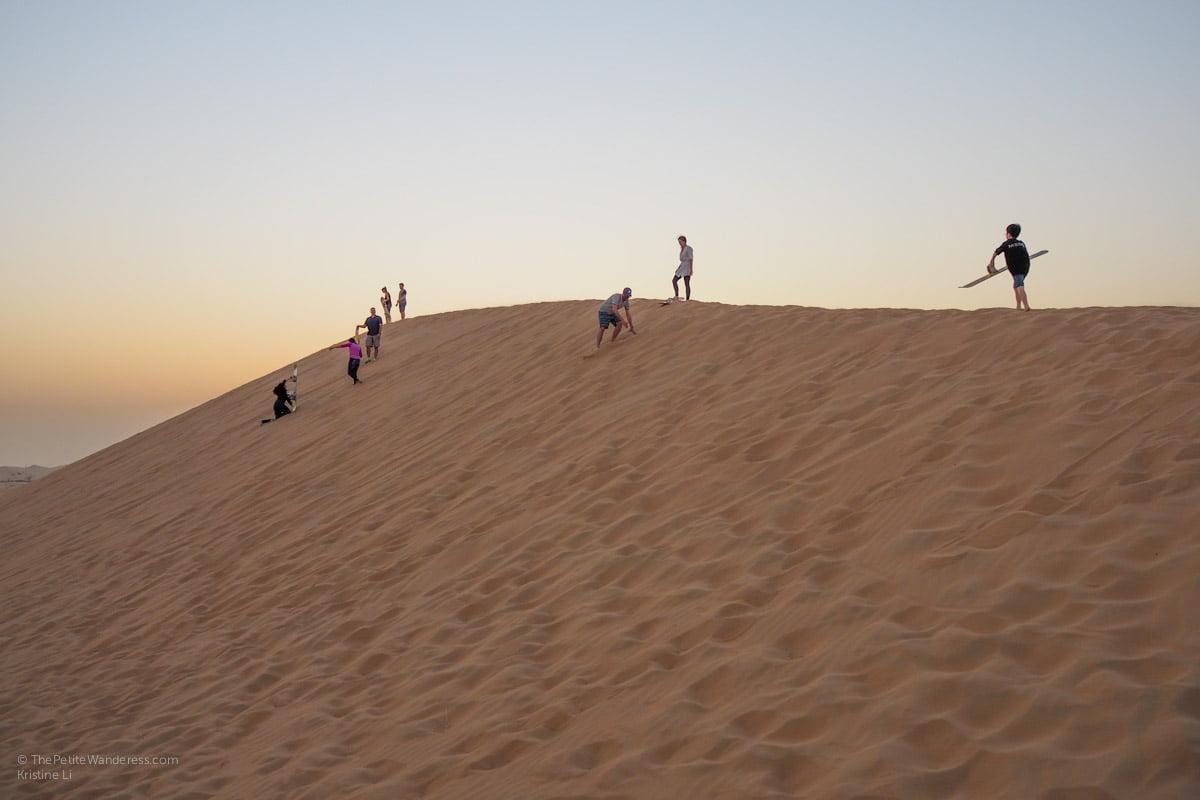 Abu Dhabi desert safari review • The Petite Wanderess