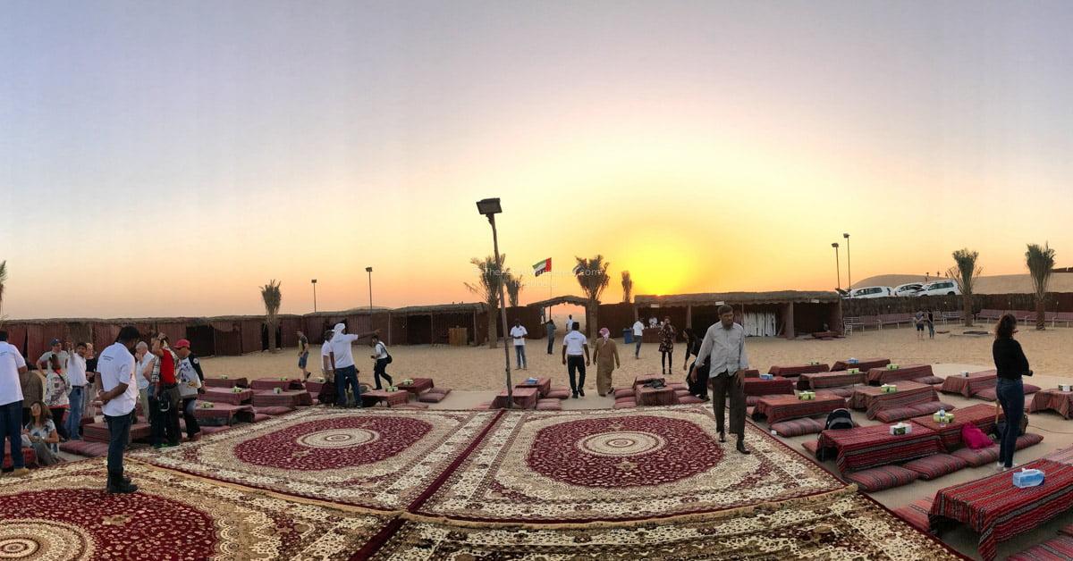 bedouin camp   Abu Dhabi desert safari review • The Petite Wanderess