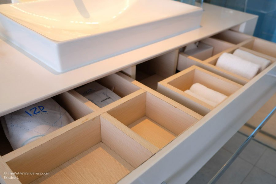 bathroom amenities | IZE Hotel Seminyak review