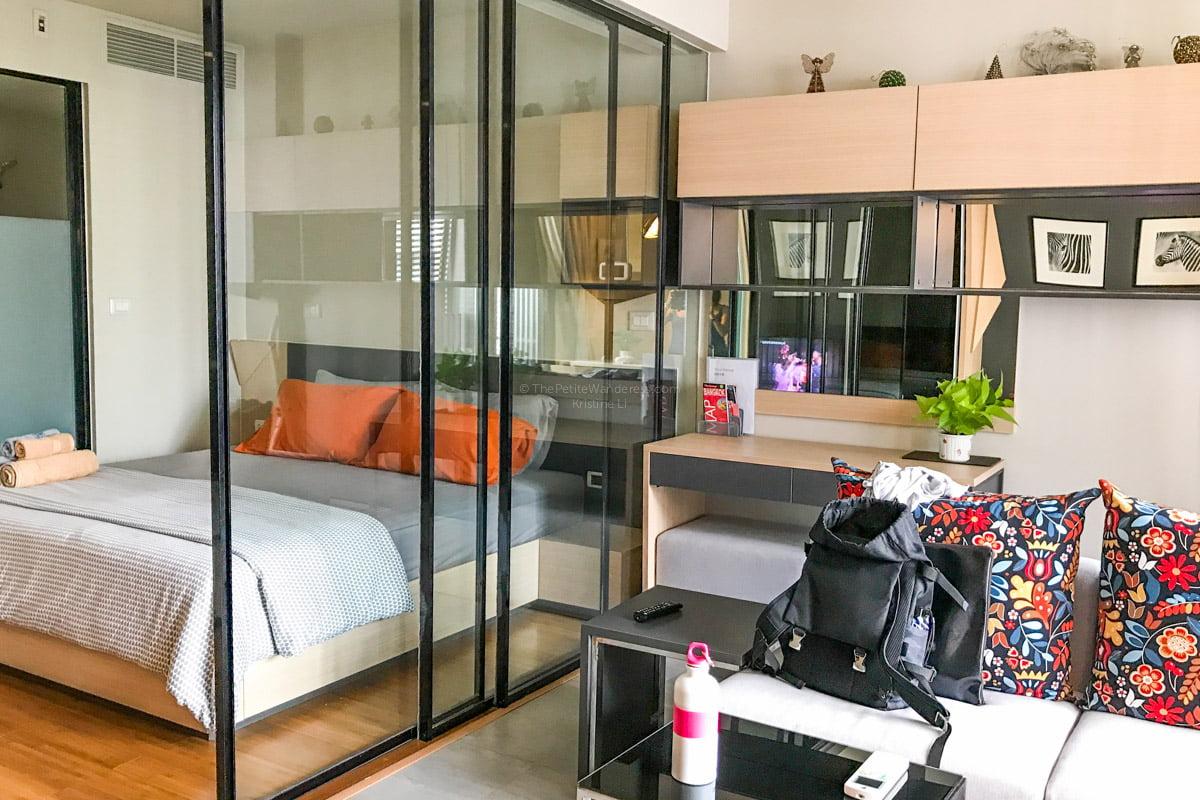 Bangkok Airbnb condo   Bangkok Travelogue: Ten Days Solo in the Land of Smiles •The Petite Wanderess