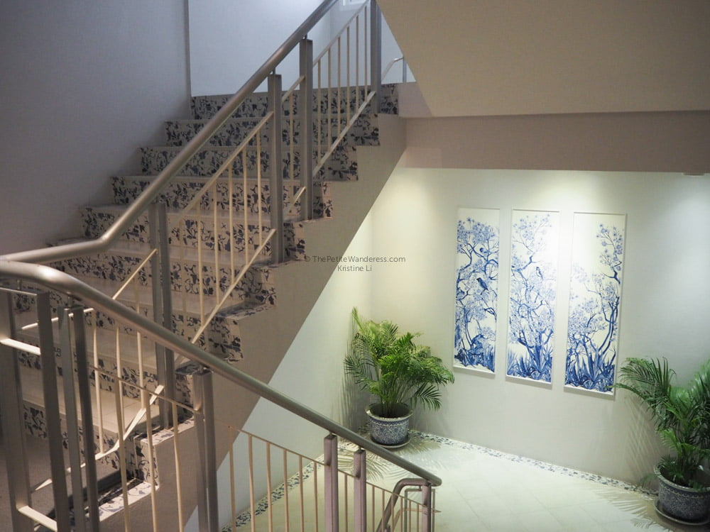 staircase at K Maison Hotel | Bangkok Travelogue: Ten Days Solo in the Land of Smiles •The Petite Wanderess
