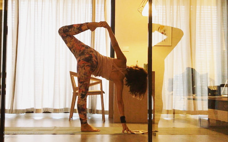 sugarcane pose yoga | Bangkok Travelogue: Ten Days Solo in the Land of Smiles •The Petite Wanderess