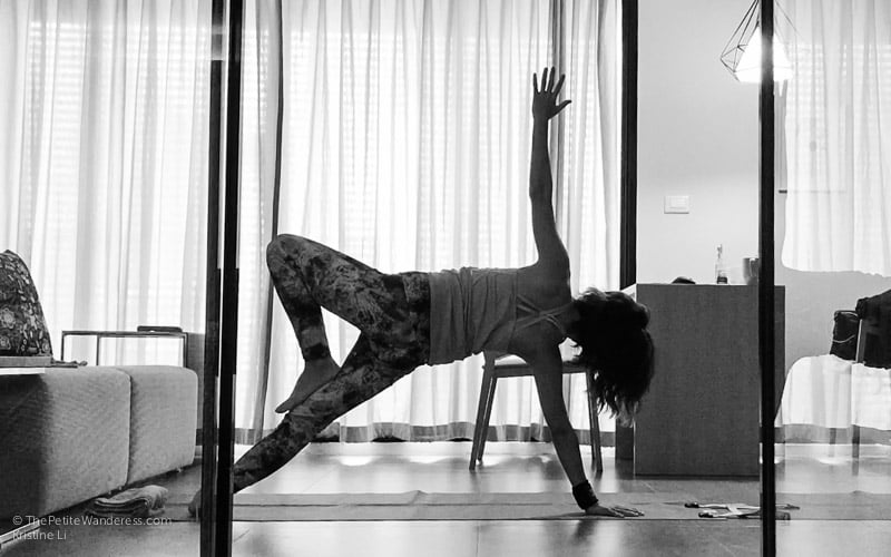 yoga pose | Bangkok Travelogue: Ten Days Solo in the Land of Smiles •The Petite Wanderess