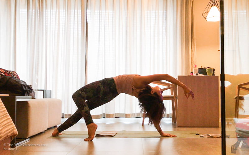 Wild Dog pose yoga | Bangkok Travelogue: Ten Days Solo in the Land of Smiles •The Petite Wanderess