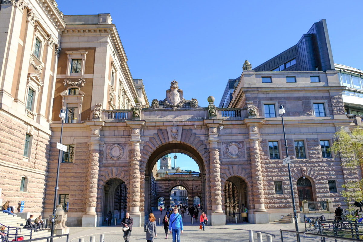 entry to Gamla Stan   Stockholm in 48 Hours • The Petite Wanderess