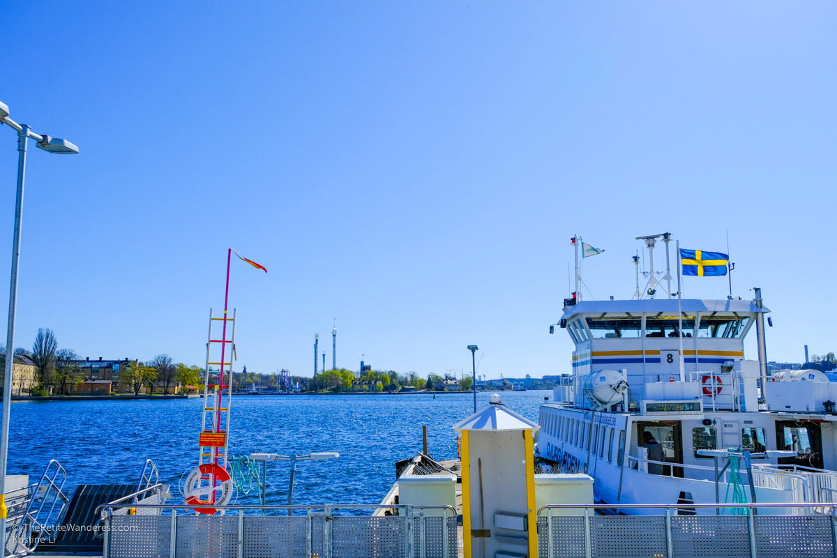 taking the ferry in Stockholm   Stockholm in 48 Hours • The Petite Wanderess