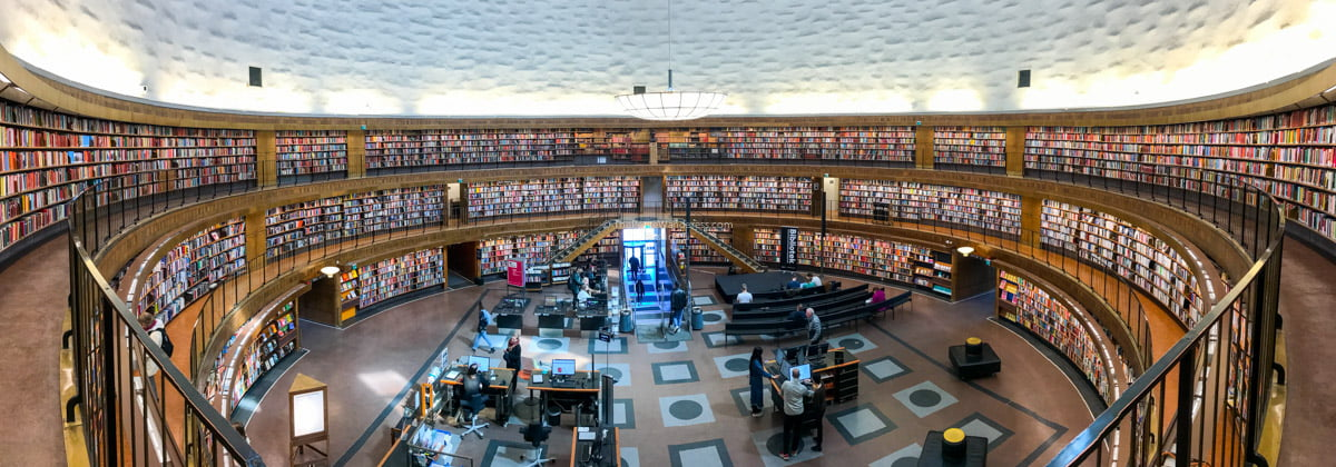 Stockholm public library   Stockholm in 48 Hours • The Petite Wanderess